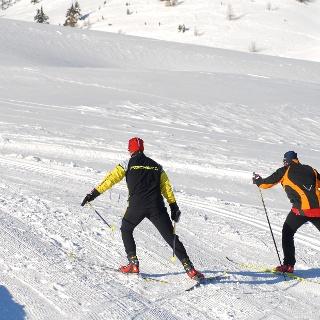 Langlaufen auf der Gerlitzen Alpe
