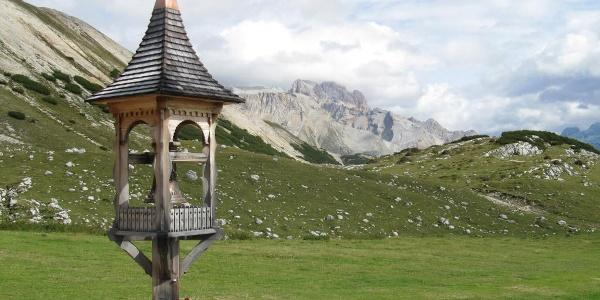Auf der Terrasse der Senneshütte