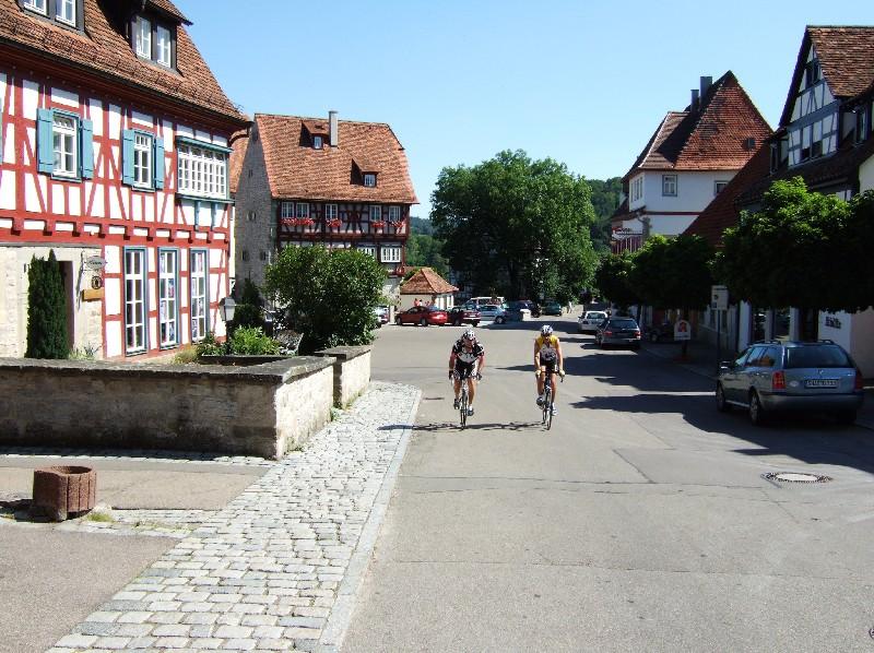 Durch das mittelalterliche Vellberg.  - @ Autor: Heinz Obinger  - © Quelle: GPSconcept