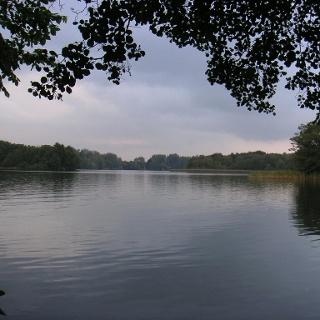 Der Blick über den Schweriner See.