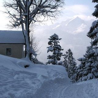 Daxkapelle am Aufstieg zum Wank.