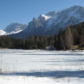 Blick auf den Ferchensee.