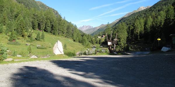 Beim Alpengasthof Oberhaus