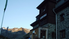 Die Franz-Senn-Hütte.