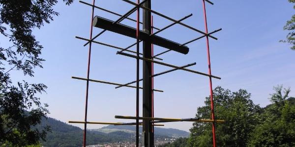 Katholikentagskreuz am Hirzberg