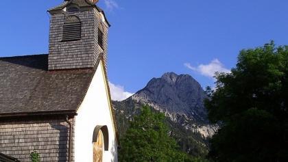 Kleine Kirche in Hinterriß.