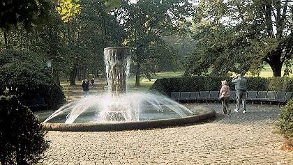 Im Anschluss an unsere Tour können wir uns im Park erholen.