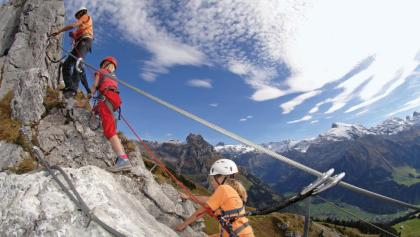Klettersteig Liechtenstein : Bergfex klettersteiggarten stoderzinken klettersteig tour