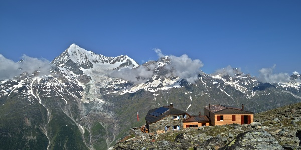 Starting point the Dom hut (2'940 m)