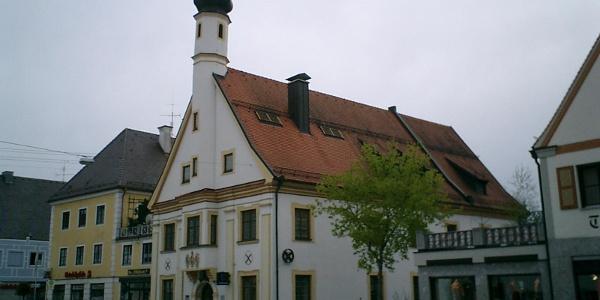 Das Alte Rathaus in Türkheim.