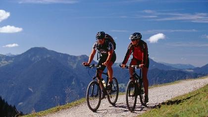 Mountainbiken am Tegernsee