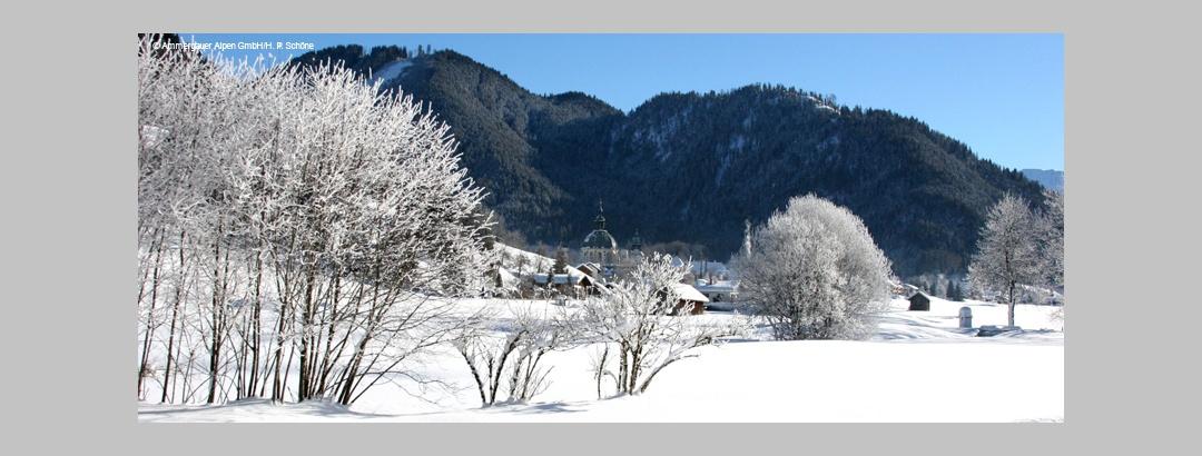 Winterwandern in der Zugspitzregion
