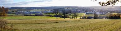 Panoramabild über Steinheim