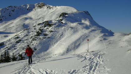 Rückblick Gipfelaufbau