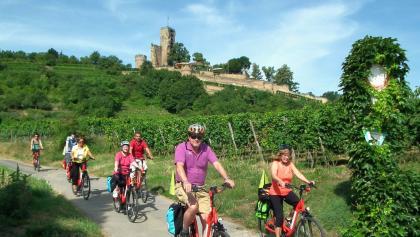 Die  Wachtenburg -  die  berühmte  Burg   mit  einer   leckeren  Gastronomie  und  herrlicher  Ausicht