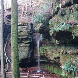 Wasserfall am Teufelsfelsen