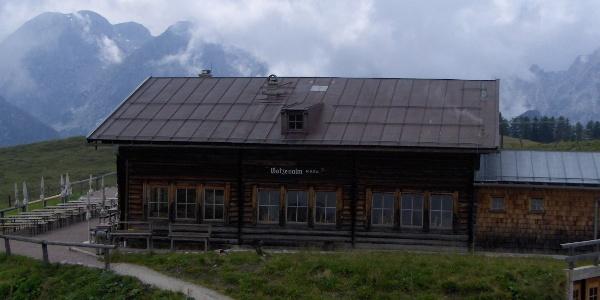 Die Hütte auf der Gotzenalm.