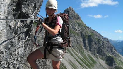 Klettersteig Saulakopf : Die schönsten klettersteige in vandans