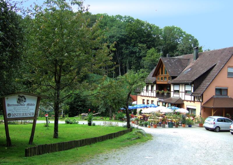 Die Hertensteiner Mühle im Rötelbachtal  - @ Autor: Heinz Obinger  - © Quelle: Hohenlohe + Schwäbisch Hall Tourismus e.V.