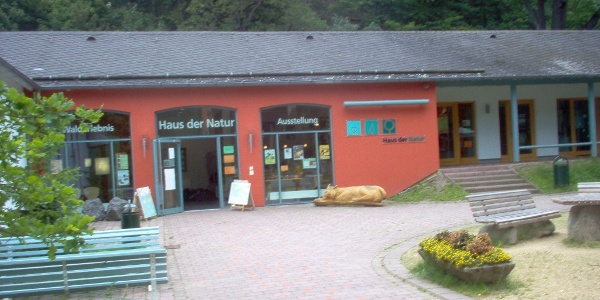 """Das """"Haus der Natur"""" im Kurpark."""