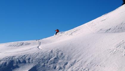 Abfahrt, Gipfelhang 1600m