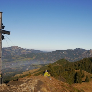 The summit of Sonnenkopf