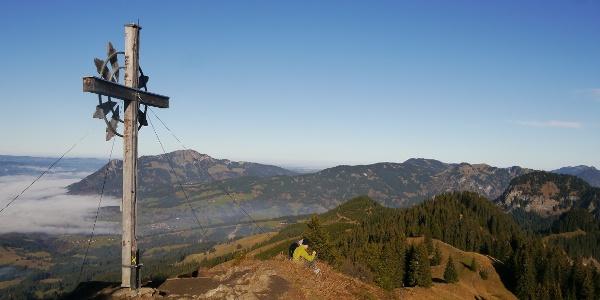 The summit of Sonnenkopf