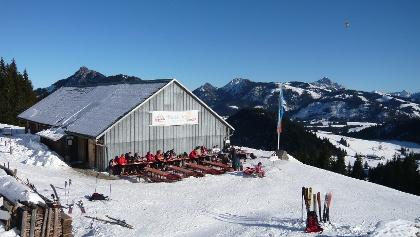 Buchel Alpe im Winter