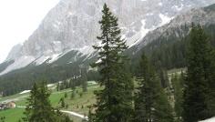 Die Ehrwalder Alm in phantastischer Umgebung.