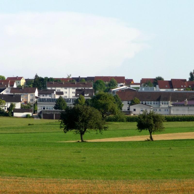 Blick auf Gerstetten