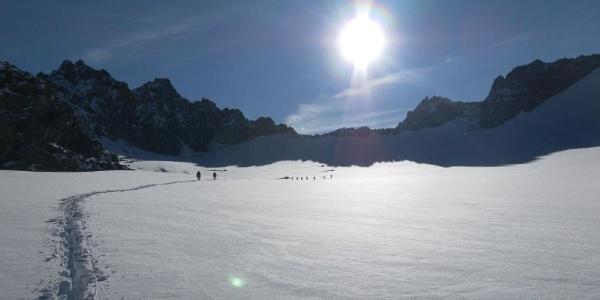 Gletscherbecken unter der Bovalscharte