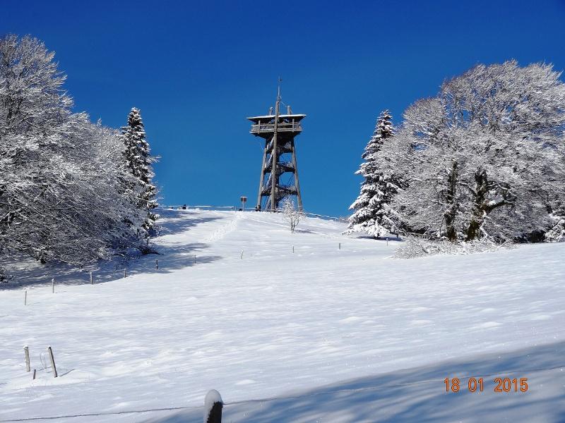 Winterwanderung Auf Dem Hausberg Von Freiburg Münstertal Staufen