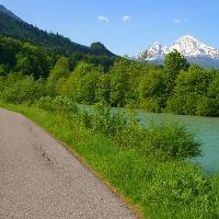 Entlang der Berchtesgadener Ache