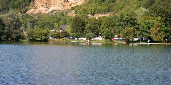 Blick über den Itzelberger See