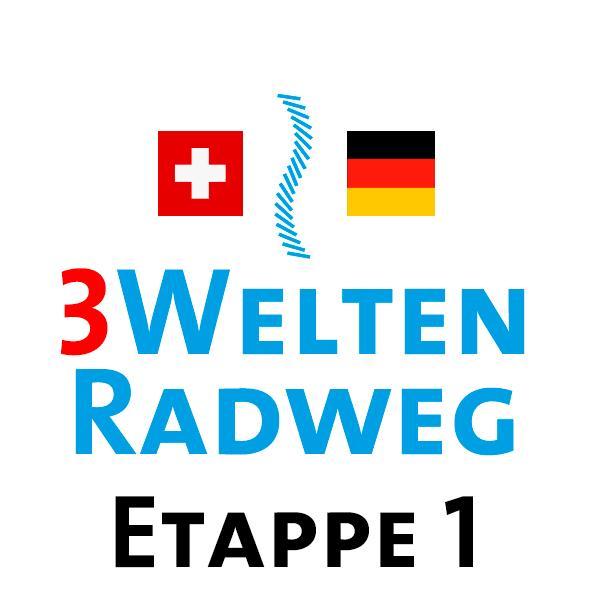 3Welten-Radweg  Etappe 1