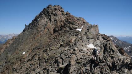 Gipfel des Hexenkopfs von Westen
