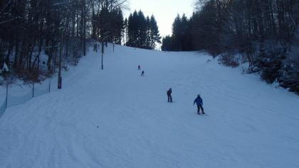 Skiabfahrt in Heibeck