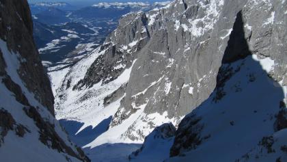 Stuhllochscharte (2246m) an der Bischofsmütze