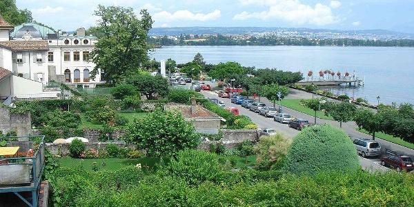 Uferpromenade von Morges