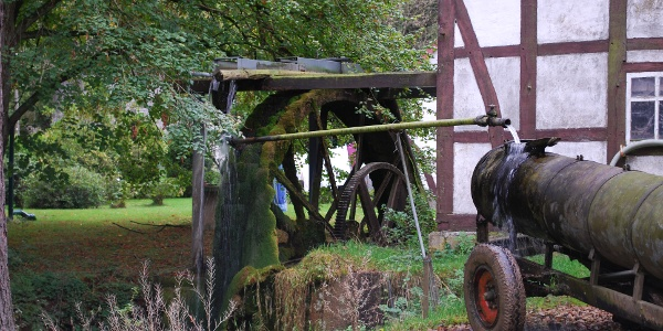 Wasserrad Eisenhammer Herriehausen
