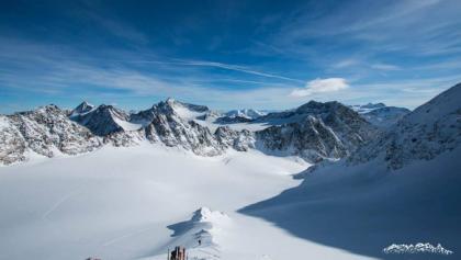 Ausblick vom Schrankarkogel (Skigipfel)
