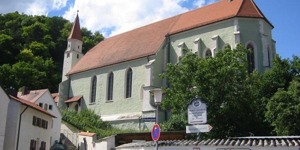 Orgelmuseum in der ehemaligen Franziskaner-Klosterkirche in Kelheim im Altmühltal