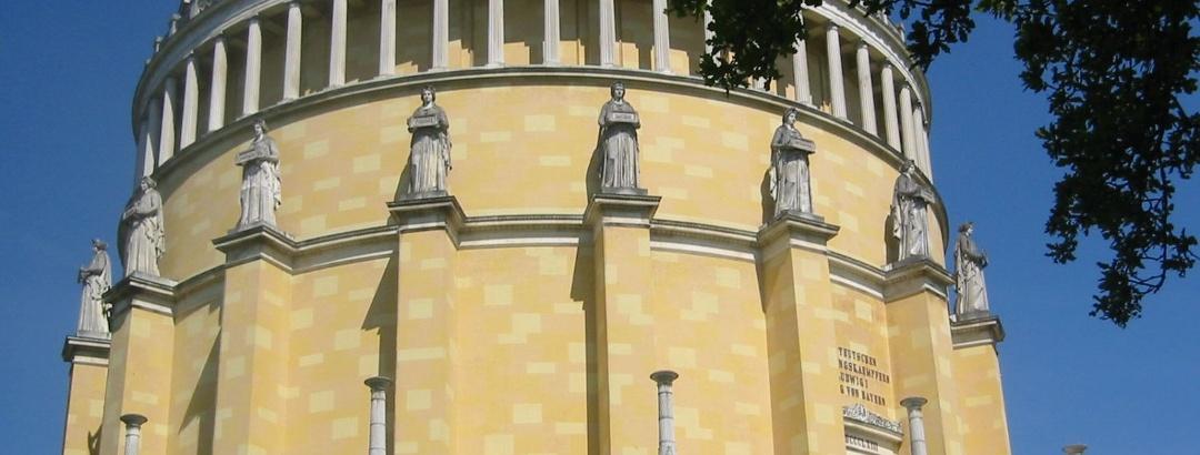 Befreiungshalle König Ludwig I. auf dem Michelsberg in Kelheim im Altmühltal