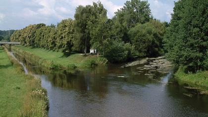 Donaueschingen Zusammenfluss der Donau