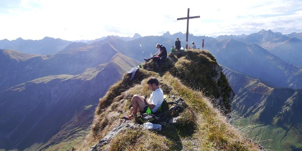 Summit of Höfats