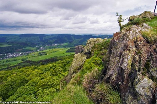Bruchhauser Steine - Naturerlebnisweg südöstlich von Olsberg