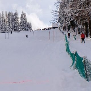 Skilift Am Grenzhang in Tellerhäuser, Breitenbrunn, Erzgebirge