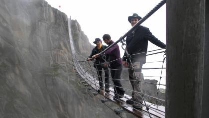 Salbithängebrücke