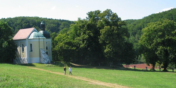 Frauenbergkapelle oberhalb vom Kloster Weltenburg