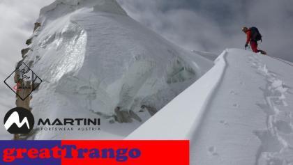 am Gipfel des Great Trango